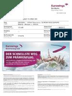 Eurowings Boardingpass F7Q1FS Martinez Florentino MADVIE
