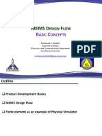 Lecture02_MEMS Design Flow