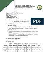 informe 1 solubilidad
