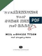 Sterrenkunde voor jonge mensen met haast - Neil deGrasse Tyson (leesfragment)