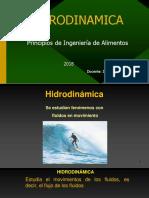 teoria hidrodinamica