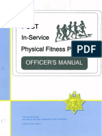 In-Service Physical Fitness Program-Officers Manual