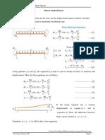 Matrix Method _Beam