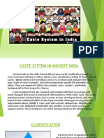 Presentation on the caste system in ancient india