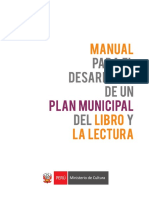 0. Manual Para El Desarrollo Del Plan Municipal Y LA LECTURA