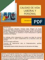 Calidad de Vida Laboral Diapositivas