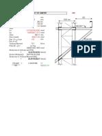 Design of Weld for Gantry1
