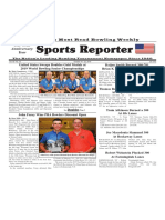 October 16 - 22, 2019  Sports Reporter