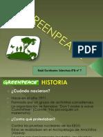 Greenpeace Trabajo