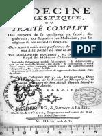 Traité de Médicine Domestique Guillaume Buchan 1775
