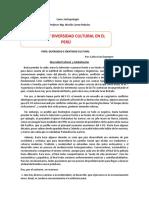 Doc. 1 Antropología Identidad y Diversidad Cultural en El Perú