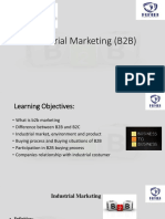 Industrial Marketing b2b