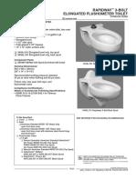 Spec Sheet 3445 j 101