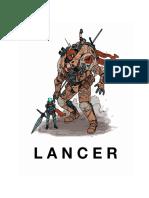 Libro de  Rol Lancer