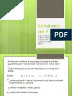 Seminário Lais-ANOVA  1 fator