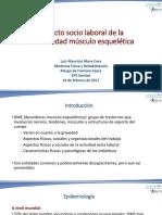 impacto socio laboral de la enfermedad musculoesqueletica