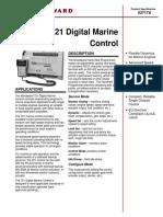 721 Digital Marine Control PS 02717A
