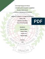 Aspectos Económicos -  Sector Secundario de Panama