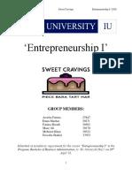 Marketing Plan (Sweet Cravings)