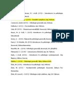 Bibliografie Psihologie