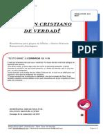 2019 Mes 09 Dia 01 - e. Celulas - Eres Un Cristiano de Verdad - Diacono Manuel Lopez.