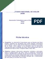 IV Estudio Nacional Dolor 1212438624179533 9 Ppt Share)