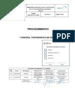 3059-OE-PC-CIV-002 Control Topografico en Obra
