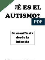 letreros autismo