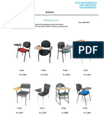 Quotation Writting Pad Chair (2)