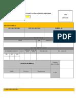 Ficha Curricular del Programa Trabaja peru
