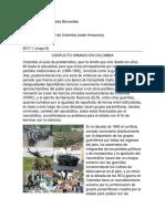 Colombia Un País de Problemática