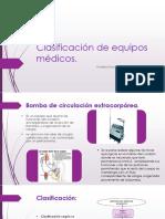 Clasificación de Equipos Biomedicos