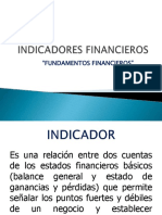 presentacion indicadores financieros