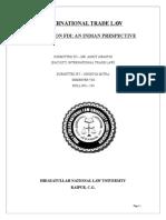 WTO rules on FDI