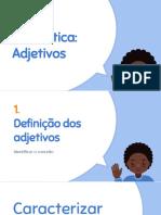 Gramática-Adjetivo
