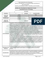 Programa de Formación TECNICO en SISTEMAS