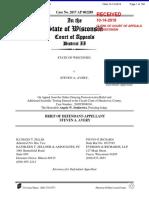 Steven Avery files appeal