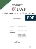 Monografia Acto Juridico