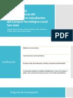 Consecuencias socioeconómicas del consumismo en estudiantes del Tecnológico de Costa Rica, Centro Académico San José