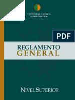 Reglamento General de Nivel Superior - 2019 (1)