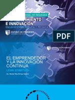 1. El Emprendedor y La Innovación Continua - Lean Startup