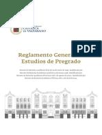 Reglamento general estudios de pregrado - pontificia universidad católica de Valparaiso