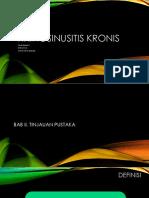 PPT LAPORAN KASUS RHINOSINUSITIS KRONIS