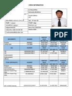 Crew Information