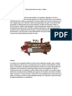 Síntesis Generadoras de Vapor y Calderas