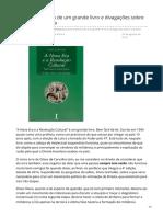 2019_AGO. Pequena Resenha de Um Grande Livro e Divagações Sobre a Direita Brasileira