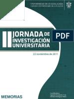 Jornada de Investigación Universitria
