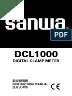 Manual Sanwa Dlc1000