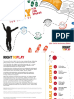 Right to Play - Play for Our Rights - For Us by Us