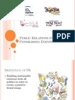 Event PR Training Call Presentation